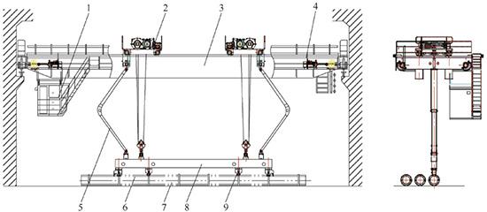 管桩专用起重机