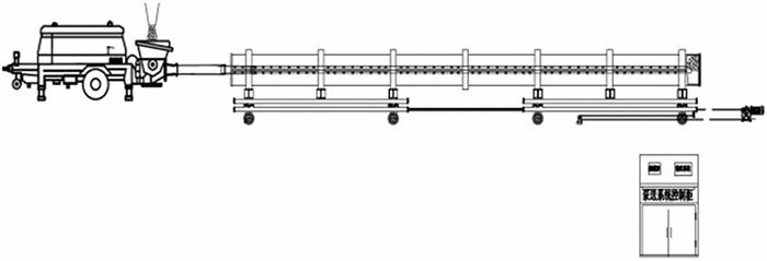 管桩泵送布料自动控制系统示意图